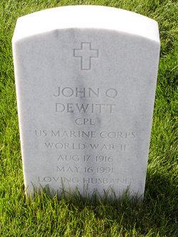 John Quinton Dewitt