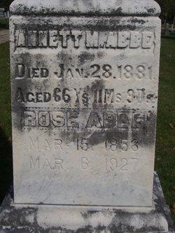Annett M. <I>Boture</I> Abbe