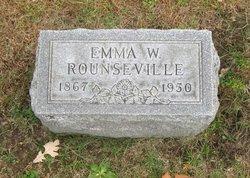 Emma <I>Walker</I> Rounseville