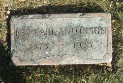 Rev Carl Antonson