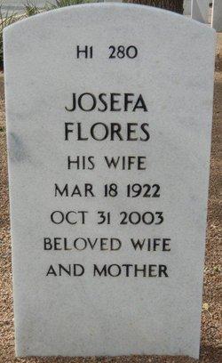Josefa <I>Flores</I> Amparan