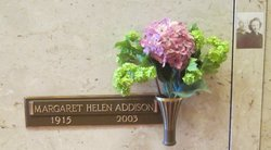Margaret Helen Addison