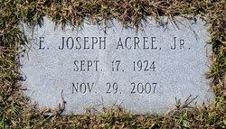 """Edmond Joseph """"Joe"""" Acree, Jr"""