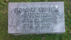 Florence <I>Griffith</I> Bannister