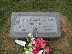 Edith <I>Smith</I> Wall Adams