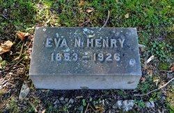 Eva N <I>Smock</I> Henry