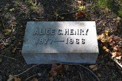 Alice C Henry