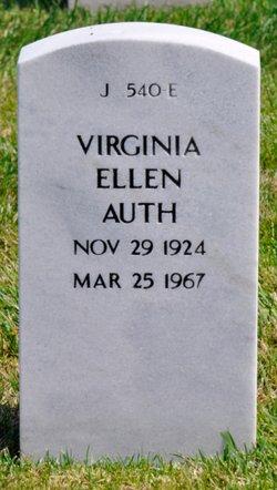 Virginia Ellen <I>Meyer</I> Auth