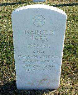 Harold Barr