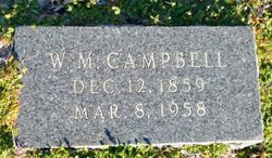 Dr William Murphy Campbell