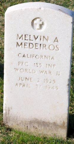 PFC Melvin Andrew Medeiros