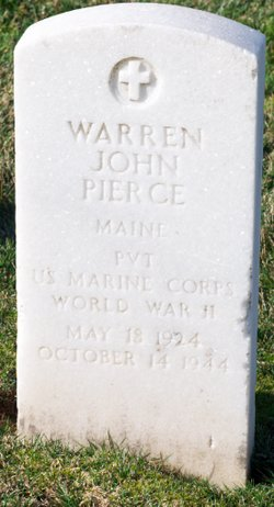 Pvt Warren John Pierce