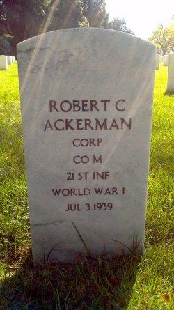 Robert C Ackerman
