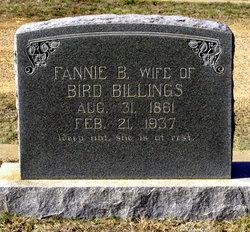 Fannie Ballinger <I>Copeland</I> Billings