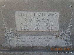 Ethel <I>Ormsby</I> Callahan Ostman