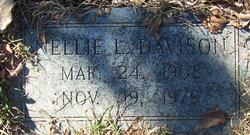 Nellie Lou <I>White</I> Davison