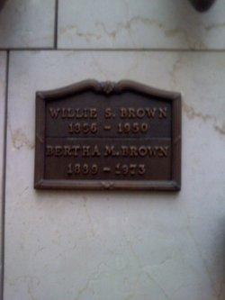 Bertha Myrtle <I>Stevens</I> Brown