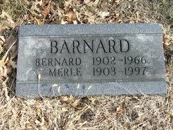 Merle E. <I>Grinstead</I> Barnard