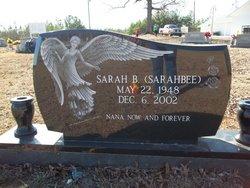 """Sarah B """"Sarahbee"""" Riddle"""