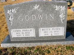 Betty <I>Pusey</I> Godwin