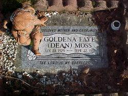 """Goldena Faye """"Dean"""" <I>Harris</I> Sigler Moss"""
