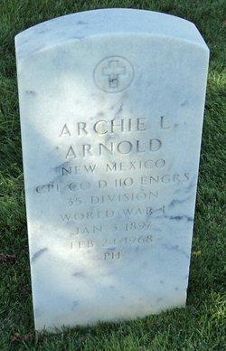 Archie L Arnold