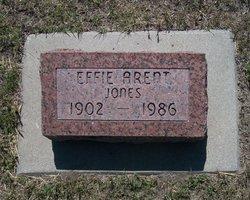 Effie G <I>Jones</I> Arent