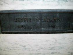 Jennie M. Adams