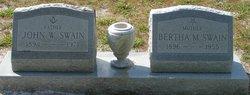 Bertha <I>McLaughlin</I> Swain