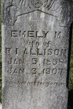Emely Mills <I>Hicks</I> Allison
