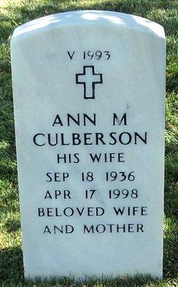Ann M Culberson