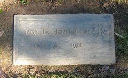 Jack Donald Hansen, Sr