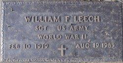 """William Franklin """"Bill"""" Leech"""