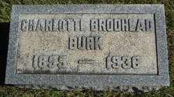 Charlotte Easton <I>Brodhead</I> Burk