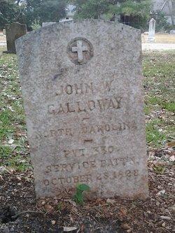 John W Galloway