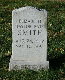 Elizabeth <I>Taylor</I> Bate Smith
