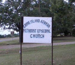 Grove Island African Methodist Episcopal Cemetery