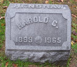 Harold Cullen Henshaw