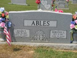 Dorothy Lee <I>Brasel</I> Ables