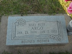 Mary Ruth <I>Cobb</I> Argo