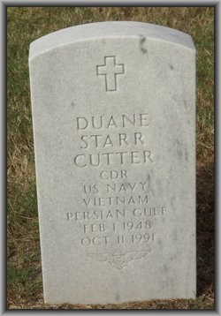 CDR Duane Starr Cutter
