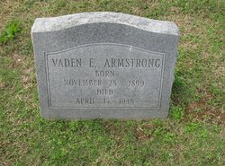 Vaden Ethel <I>Hammonds</I> Armstrong