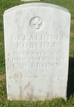 Geraldine Roberta Brown