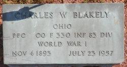 Charles W Blakely