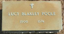 Lucy Elizabeth <I>Blakley</I> Poole