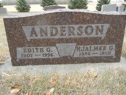 Edith Gertrude <I>Carlson</I> Anderson
