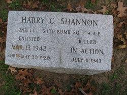 LTJG Harry C. Shannon