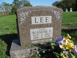 Blanche F Lee