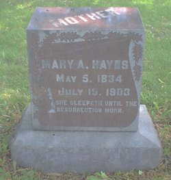 Mary A Hayes