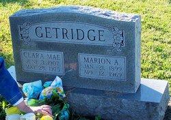 Clara Mae <I>Callin</I> Getridge